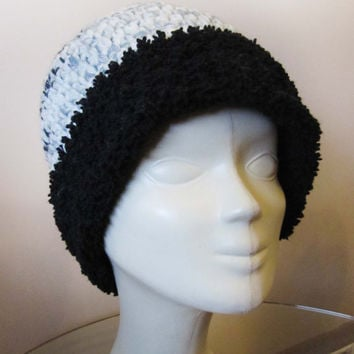 Knitted hat for women/Hand made hat for ladies / Originally Designed