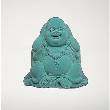 Blue Laughing Buddha Figurine - Spencer's