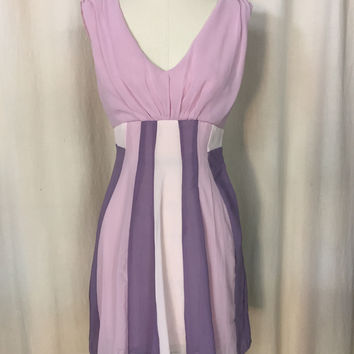 ModCloth Minuet Womens Purple Cocktail Party Dress Sz Small