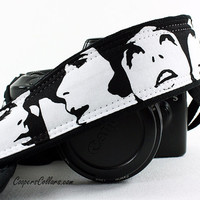 Camera Strap, Black and White, Faces, Portraits, Photo Booth, dSLR, SLR, 148