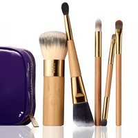 brushed by beauty 5-piece brush collection from tarte cosmetics