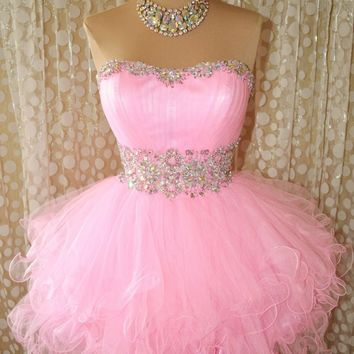 Pageant Evening Formal Ball Gown Prom Dress