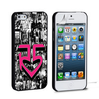 R5 Louder Band iPhone 4 5 6 Samsung Galaxy S3 4 5 iPod Touch 4 5 HTC One M7 8 Case