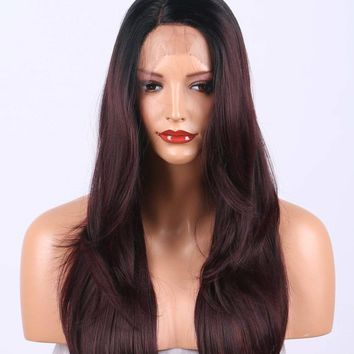 Lace Front Wig synthetic heat resistant
