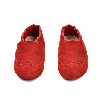 Leather Baby Handcrafts Environmental Shoes [4919351300]