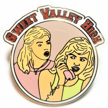 Sweet Valley High Enamel Pin