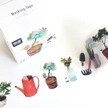 Alice Garden washi masking tape mt