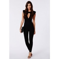 Missguided - Miyake Keyhole Structured Jumpsuit