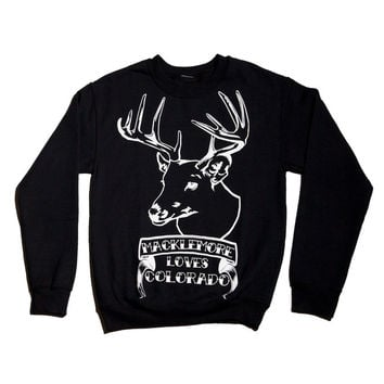 SALE Colorado Crewneck Sweatshirt – Macklemore & Ryan Lewis Merchandise