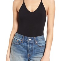 Obey Strappy Back Bodysuit | Nordstrom