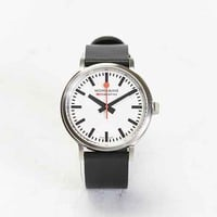 Mondaine Stop2go Watch- Black One