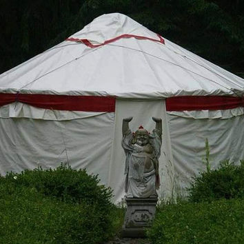 Yurt, 14-Foot Yurt, Mongolian Yurt, Burning Man, Festival Tent, Backyard Studio, Glamping