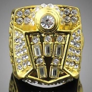 """SPORTS RING * 1998 CHICAGO """"BULLS"""" WORLD * CHAMPIONS/ ...fast free delivery!"""