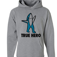 Left Shark True Hero Hoodie | Left Shark true Hero Super Bowl Sweater | Right Shark Dancing Shark | Katy Perry Superbowl Performance