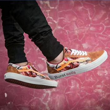 VANS California Camo Floral Burst sells Sport shoes golden H-PSXY