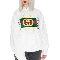 Double G Hoodie - White