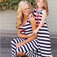 Mommy & Me Sailor Dresses