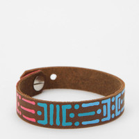 Urban Outfitters - The Leather Atelier Hand-Painted Bracelet