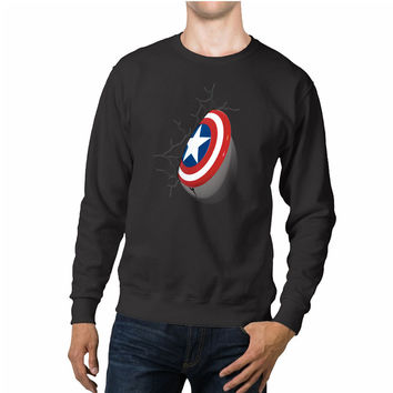 Shield Captain America Avengers Unisex Sweaters - 54R Sweater