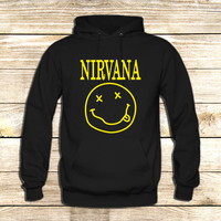 Nirvana Logo on Hoodie Jacket