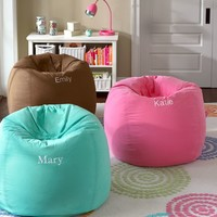 Pool Washed Twill Beanbag