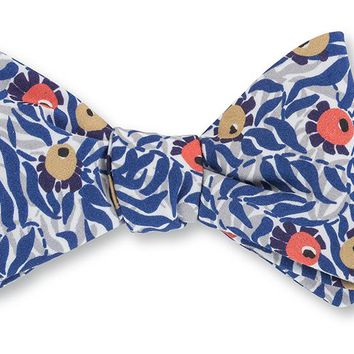 Huckleberry Liberty Floral Bow Tie - B4208