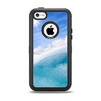 The Sunny Day Waves Apple iPhone 5c Otterbox Defender Case Skin Set