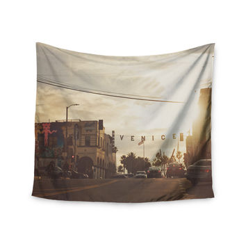 "Myan Soffia ""Winter in Venice"" Clouds Sky Wall Tapestry"