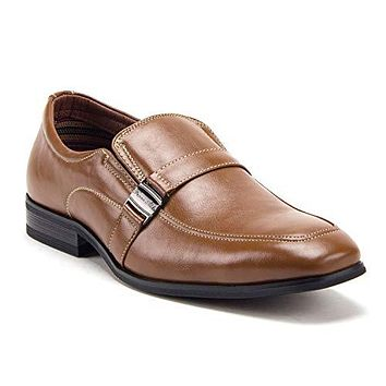 Men's 20623 Classic Round Toe Slip On Leather Lined Loafers Dress Shoes