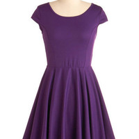 In Good Grape Dress | Mod Retro Vintage Dresses | ModCloth.com