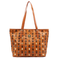 SIGNATURE SERIES TOTE STYLE HANDBAG -- NOT MCM, JUST INSPIRED