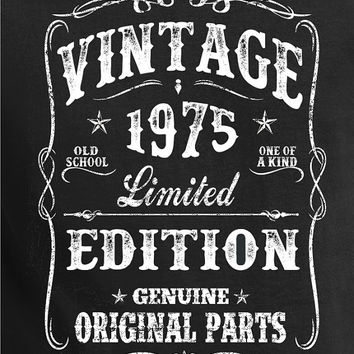 Vintage  Birthday Shirt  - VINTAGE 1975 Shirt - Tee -for son- T-Shirt - Gift for Him -  Limited Edition 1975