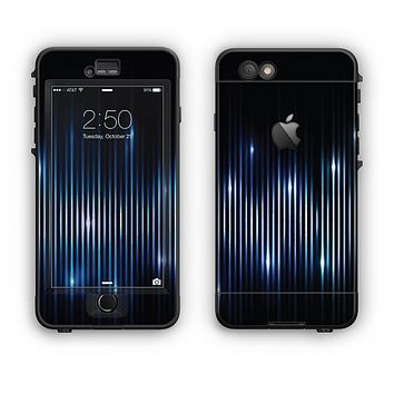 The Glowing Blue WaveLengths Apple iPhone 6 Plus LifeProof Nuud Case Skin Set