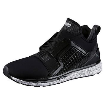 PUMA IGNITE LIMITLESS SNOW SPLATTER MENS SNEAKERS