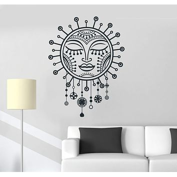 Vinyl Wall Decal Sun Amulets Bedroom Decoration Room Art Stickers Mural Unique Gift (ig5191)