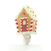Gingerbread House Night Light, Ibis & Orchid Nightlights, NIB, 50156