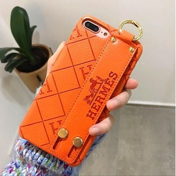 Hermes Fashion Women Men Personality iPhone Phone Cover Case Pho f863c9289a