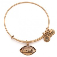 Seattle Seahawks Football Charm Bangle