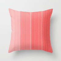 Coral Throw Pillow by Amy Lowry | Society6