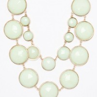 Esmerie Necklace in Mint - ShopSosie.com