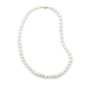 """30"""" Cultured Freshwater Pearl Necklace (8.5-9mm Pearls)"""