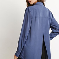 Vented-Back Shirt