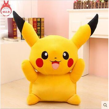 Big Size 55cm 22inch Pikachu Plush Toys High Quality Very Cute Plush Toys For Children's Gift 1pcs