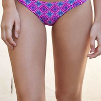O'Neill Ocean Twist Bikini Bottom - Womens Swimwear - Pink