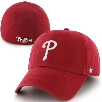 Philadelphia Phillies '47 Brand Franchise Fitted Hat – Red