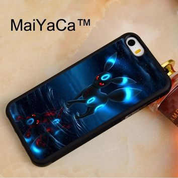 MaiYaCa RARE S UMBREON Soft TPU Phone Case For iPhone 5 5s Rubber Back Cover For iPhone SE Phone Bag Case CoverKawaii Pokemon go  AT_89_9