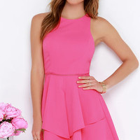 Picture Perfection Hot Pink Dress