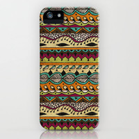 Hippie Chick II iPhone Case by Jenndalyn | Society6