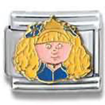 CABBAGE PATCH KIDS Queen Officially Licensed Italian Charm