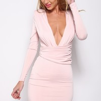 Bright Lights Dress Blush